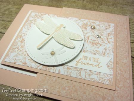 Dragonfly garden joy-fold - peony 2