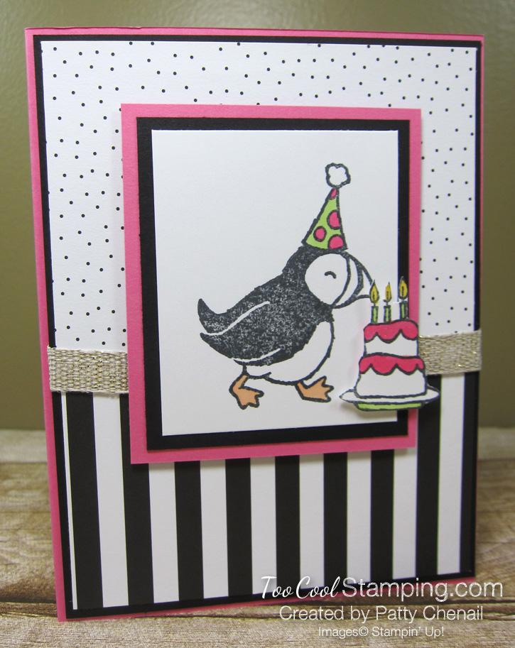 Party puffins - birthday cake chenail 1