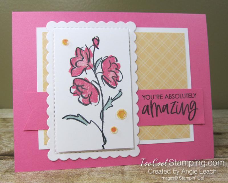 Color contour amazing simple - pink 1