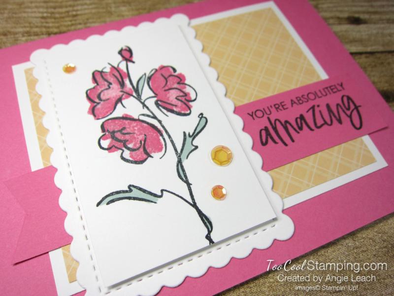 Color contour amazing simple - pink 2