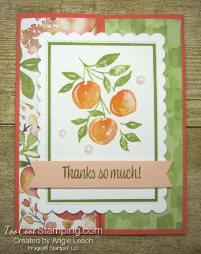 Sweet As A Peach Gate-Fold - peaches 1