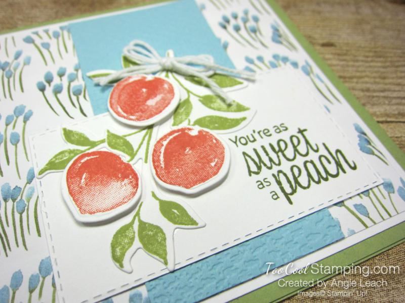 Sweet As A Peach Popped Up Trio - peaches 2