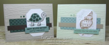Turtle friends friends are like seashells - two cool