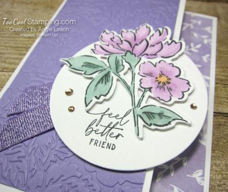 Hand Penned Feel Better Friend - heather 2