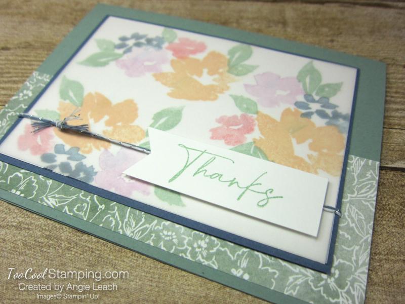 Hand Penned Petals congratulations - succulent 2