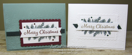 Evergreen elegance merry Christmas - two cool