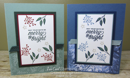 Tidings & trimmings merry & bright - two cool