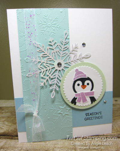 Penguin Place Snowflake cards - pool b1