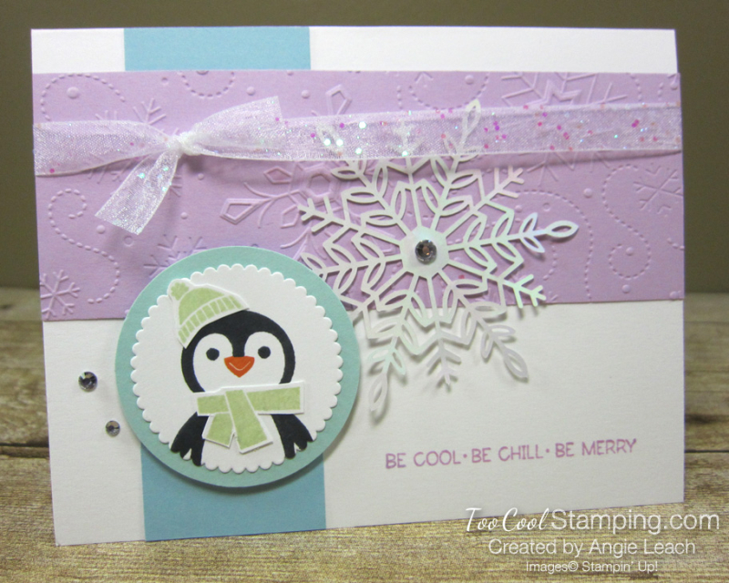 Penguin Place Snowflake cards - fresia a1