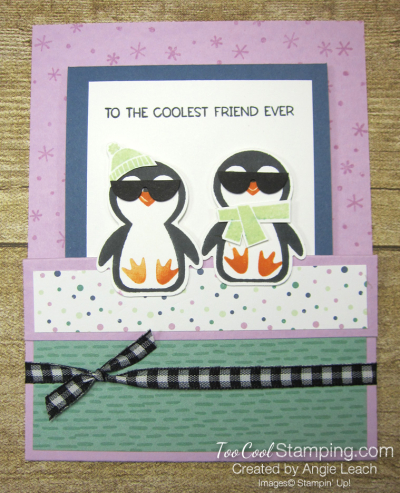 Penguin Place cool with shades -  fressia 1