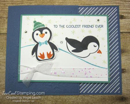 Penguin Place snow scene cards - misty 1