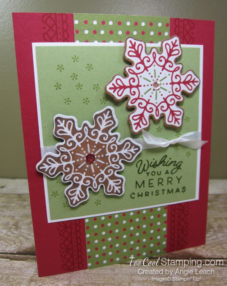 Frosted gingerbread two dsp - red 1