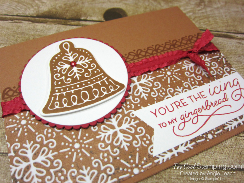 Gingerbread icing bell 2