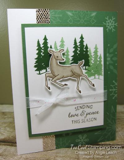 Peaceful Deer love and peace