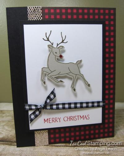 Peaceful Deer merry christmas