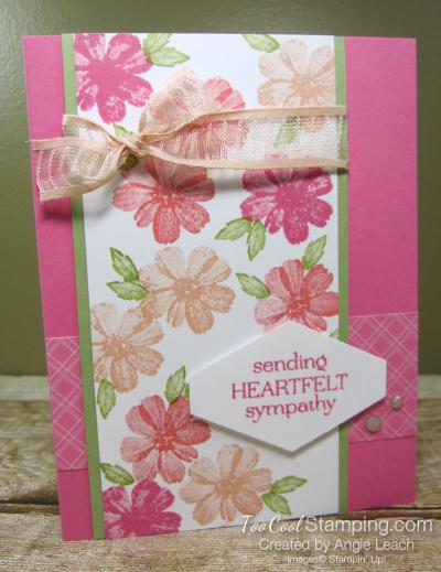 Delicate Dahlias heartfelt sympathy - pink 1