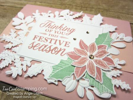 Merriest Moments festive season blush - blushing 2