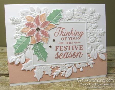 Merriest Moments festive season blush - white
