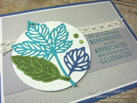 Gorgeous leaves intricate die-cuts - misty 2