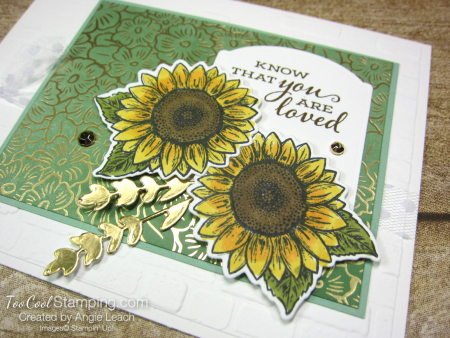 Celebrate Sunflowers You Are Loved - white 2