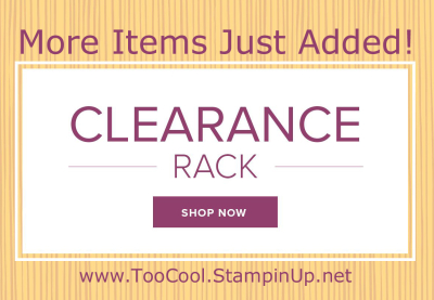 Clearance Rack Refresh banner