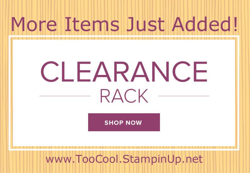 Clearance Rack Refresh banner