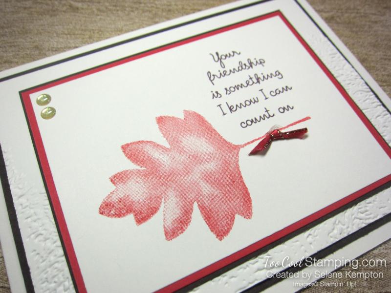 Love of leaves friendship - kempton 2