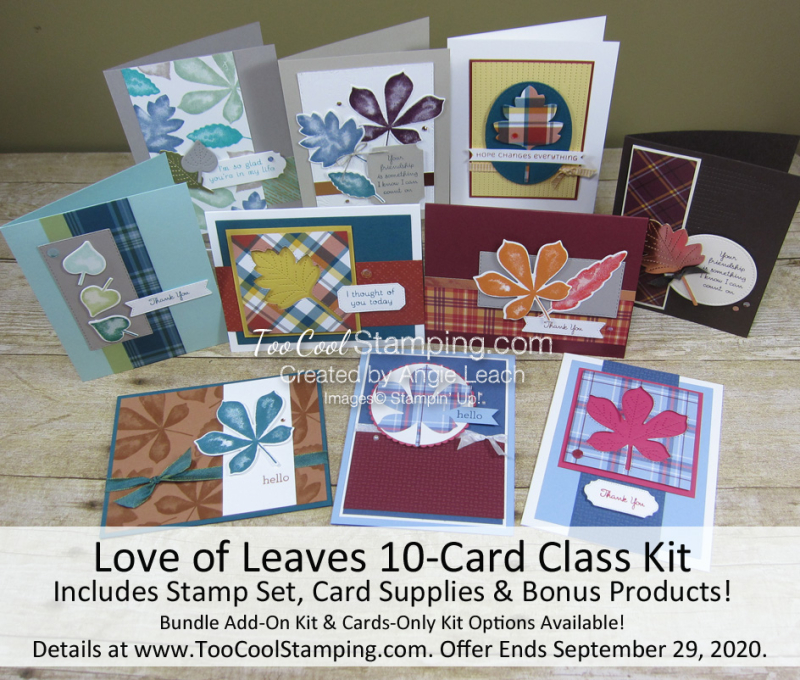 Love of Leaves 10-Card Class Banner