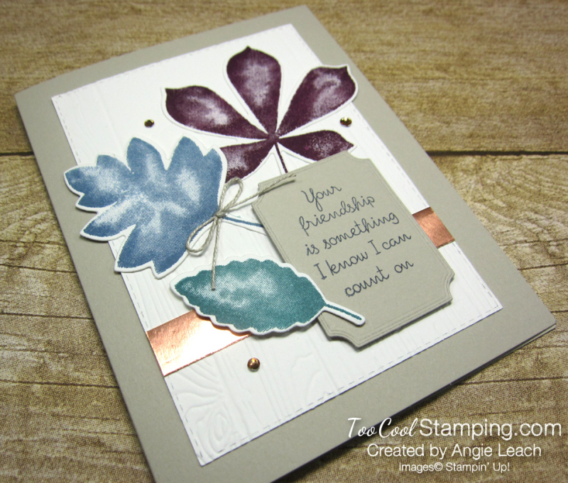Love of leaves leaf trio - friendship 2