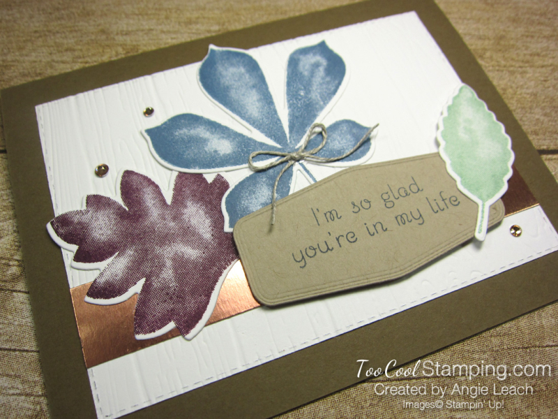 Love of leaves leaf trio - in my life 2