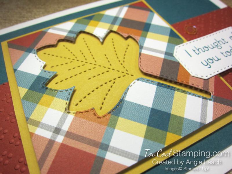 Love of leaves leaf recessed window - peacock craze 2