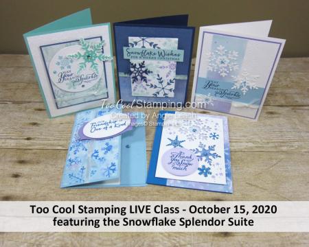 Snowflake Splendor LIVE Class Banner