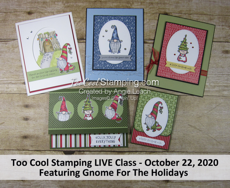 Gnome For The Holidays LIVE Class Banner