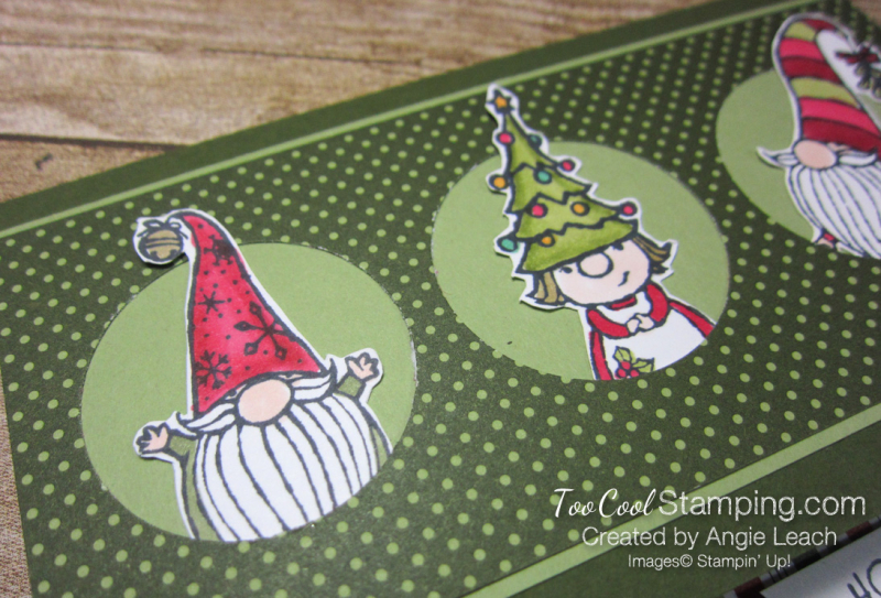 Gnome For The Holidays Peekaboo - mossy 2