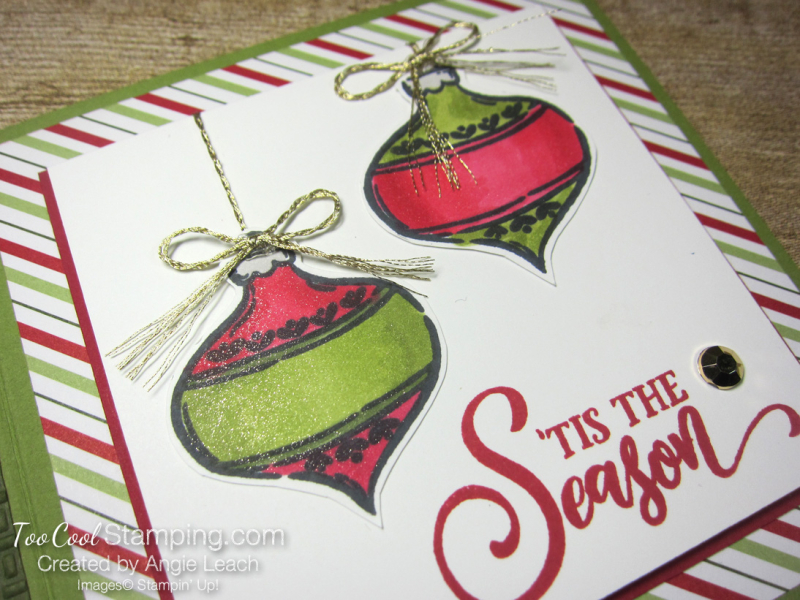 Tag Buffet Book Card - olive 3