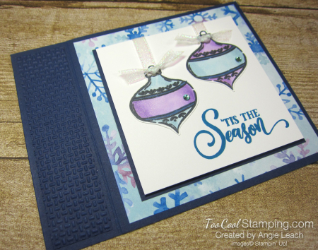 Tag Buffet Book Card - navy 2