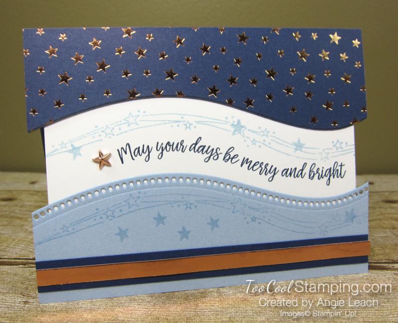Curvy Christmas Starry Night