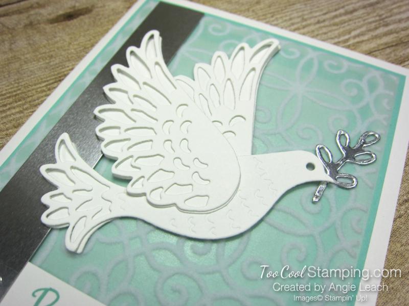 Dove of hope diecut dove - coastal cabana 3