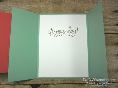 Happiest of Birthdays gate fold - mint 3