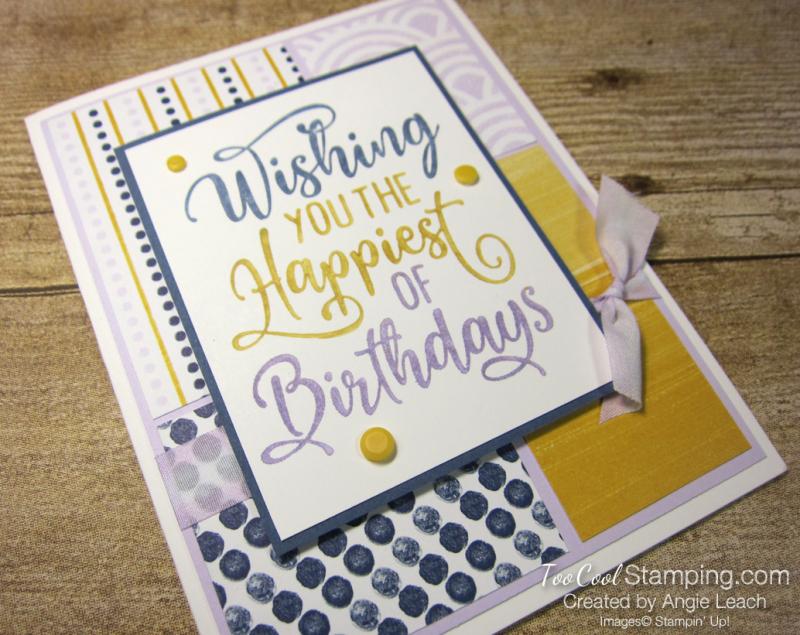 Happiest of Birthdays blocking - misty 2