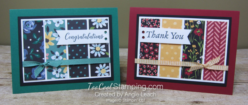 Happy thoughts flower & field strips - two cool