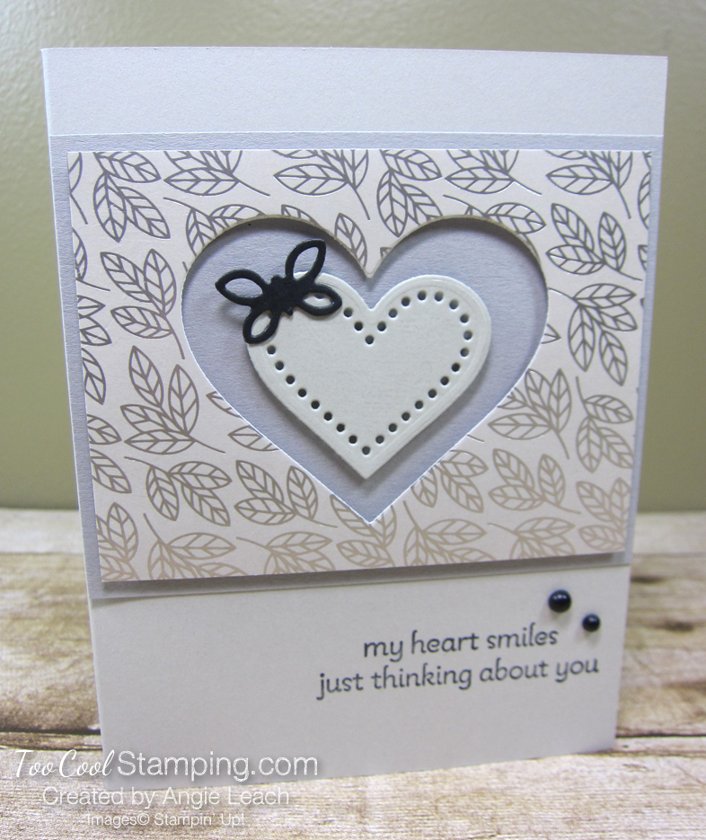 Lots of Heart recessed hearts - sand