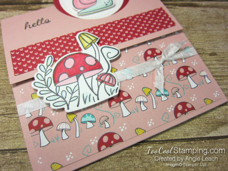 Snail mail extended circle - mushrooms 3