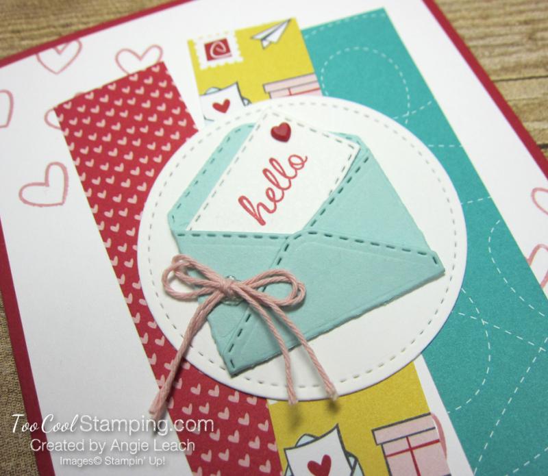 Snail mail hello envelope 2