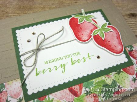 Sweet strawberry pair - crumb 2