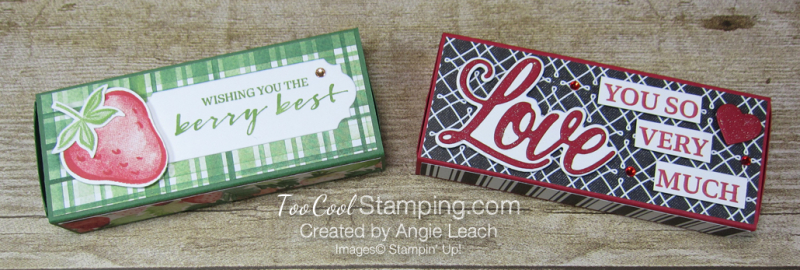 Chocolate hearts treat box - two cool