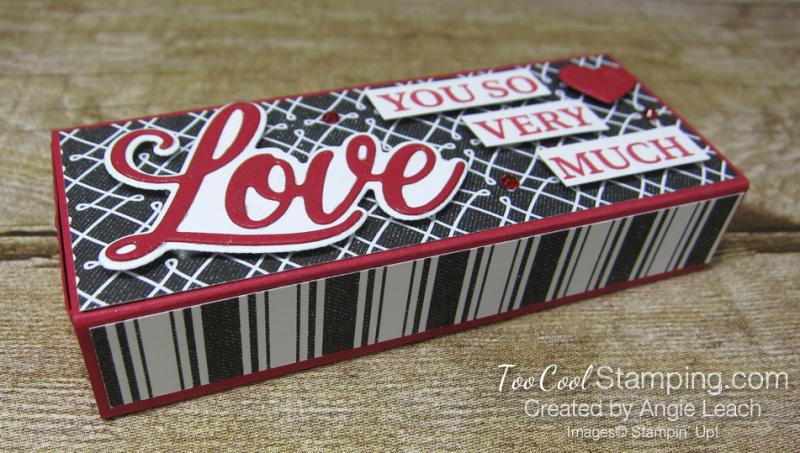 Chocolate hearts treat box - true love 1