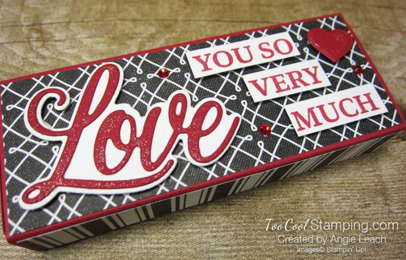 Chocolate hearts treat box - true love 2