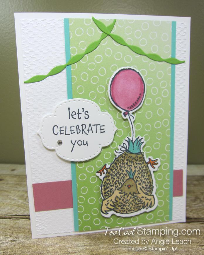 Birthday chick celebrate you - granny 1