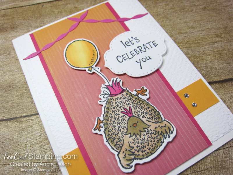 Birthday chick celebrate you - artistry 2